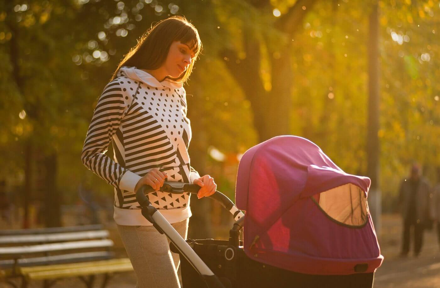 Kočíkovanie - matka v šestonedelí