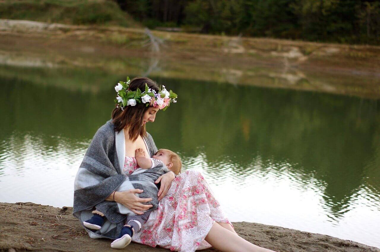 Dojčenie - čerstvé mamičky