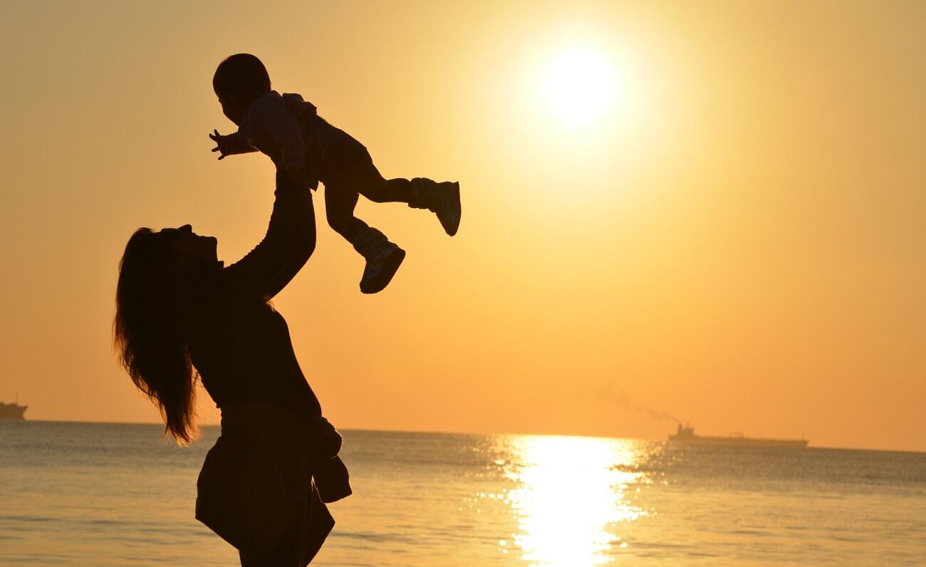 Dieťa a slnečné žiarenie
