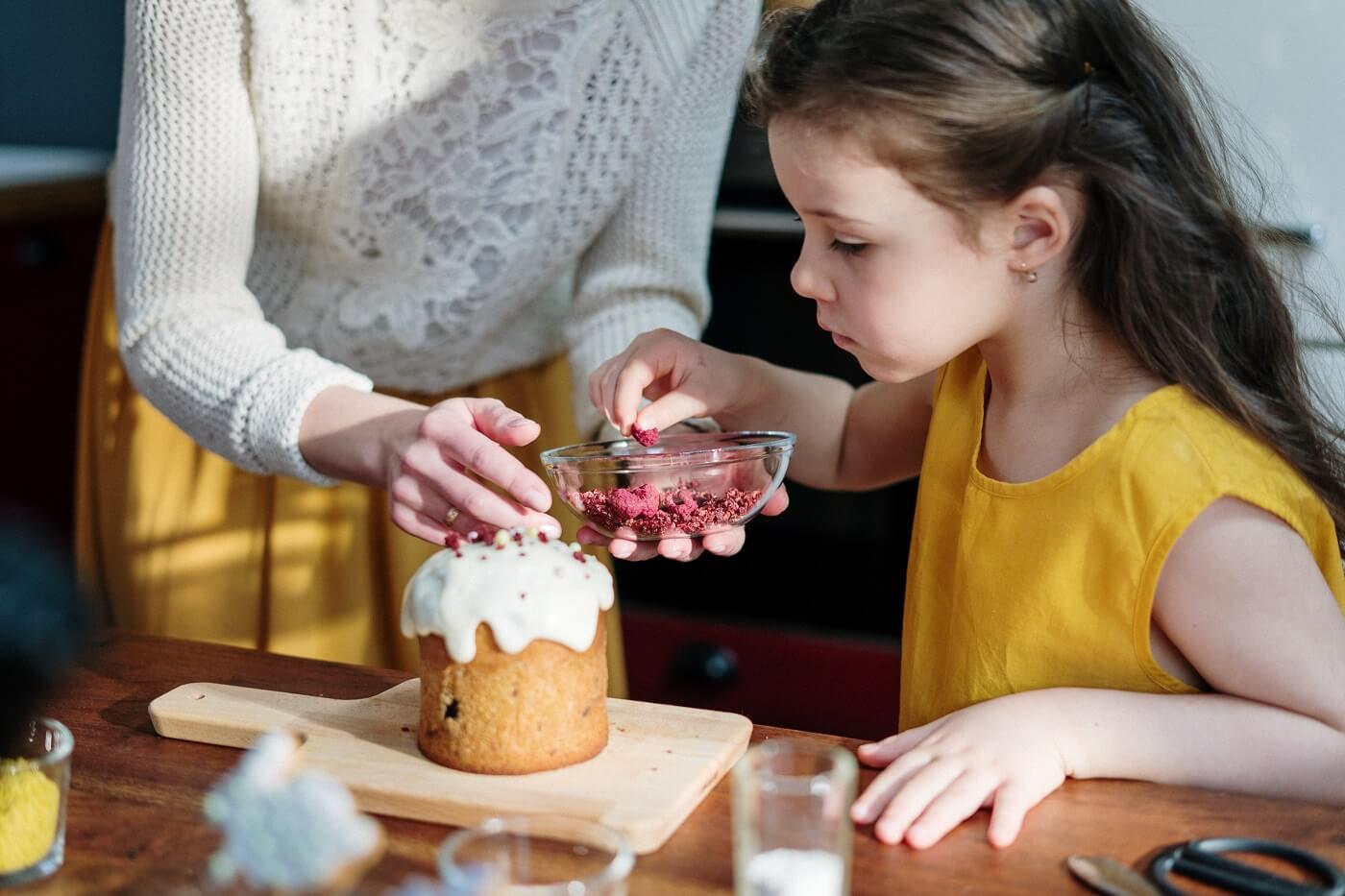 Spoločné pečenie s deťmi